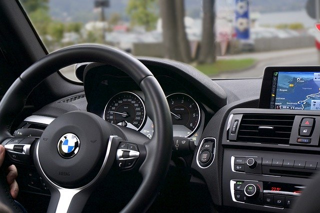 Car with navigation system